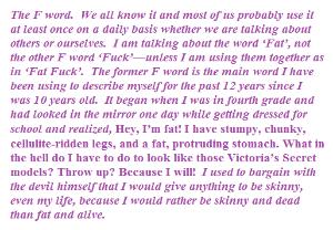 Writing About Girls  University Of Iowa Gwsstory  Uiowa Wiki Sarah P Essay On Body Image In Girl World